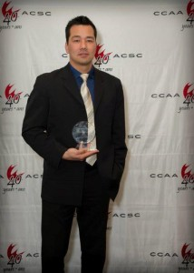 Camosun Chargers women's volleyball coach Chris Dahl was recently named national Coach of the Year (photo provided).