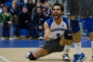 Visibility is the Camosun Chargers' biggest challenge (photo by Kevin Light).