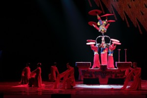The National Acrobats of the People's Republic of China present Peking Dreams at the University of Victoria on September 5 (photo provided).