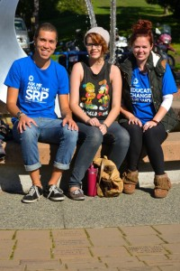 These students want to see a refugee-sponsorship program start up here at Camosun College (photo by Jill Westby/Nexus).