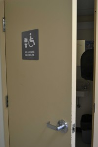 Camosun College currently has single-stall gender-neutral bathrooms (photo by Jill Westby/Nexus).