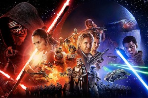 Star Wars: The Force Awakens lives up to expectations, but also has its faults (photo provided).