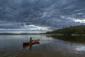 The Reel Paddling Film Fest will feature movies with lots of scenes like this, showcasing the beauty of nature and life behind the paddles (photo by Gary McGuffin/Ontario Tourism).