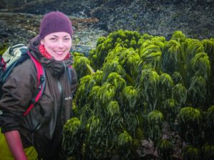 Author Bridgette Clarkston has no shortage of things to say about seaweed (photo provided).
