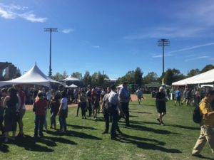 Beer, sunshine, and good company: this year's fest was a success (photo by Adam Boyle/Nexus).
