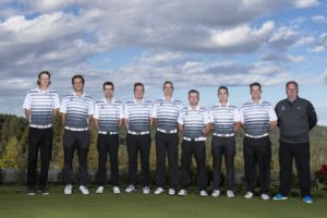 The Camosun Chargers golf team have their sights set on another strong season this year (photo by Kevin Light).