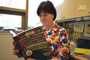 Camosun's Sybil Harrison hopes to see gamification happening in the college's classrooms (photo by Jill Westby/Nexus).